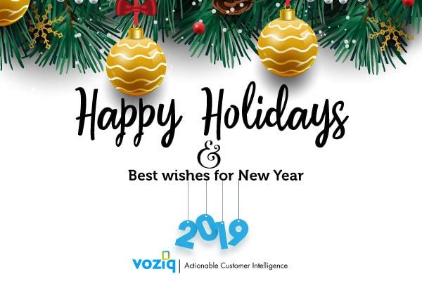 Happy Holidays from VOZIQ!